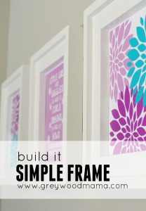 DIY Simple Frame _ PIN