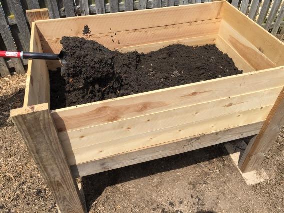 Filing dirt